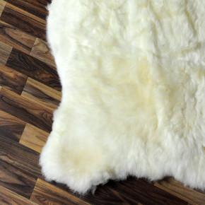 XL ÖKO Schaffell Fell Lammfell beige braun grau 110x70 #8389
