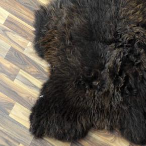 ÖKO Tibetlamm Schaffell Lammfell Fell 80x45 Tibet #9788